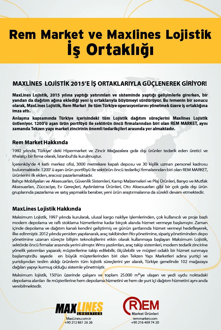 REM Market ve MaxLines